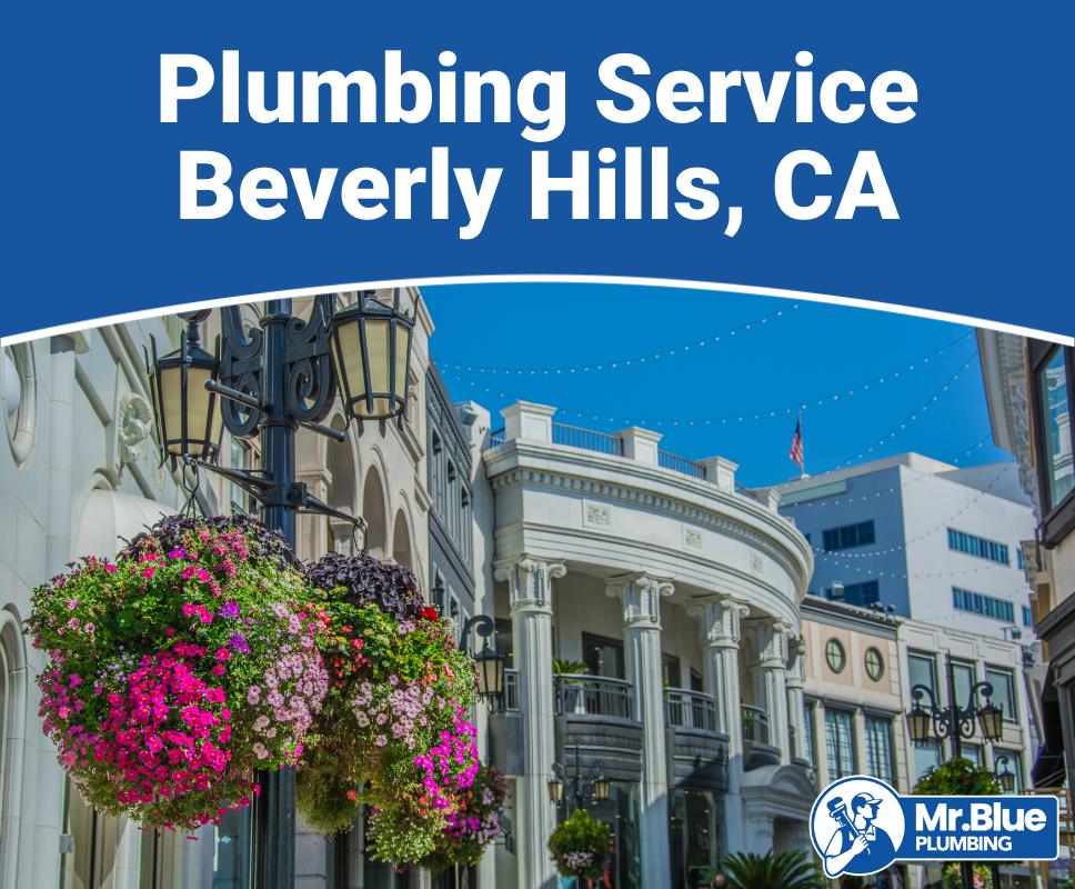 Plumbing Service Beverly Hills, CA