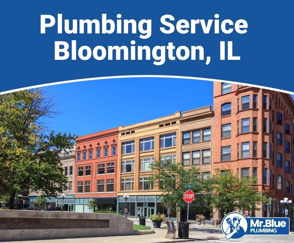 Plumbing Service Bloomington, IL