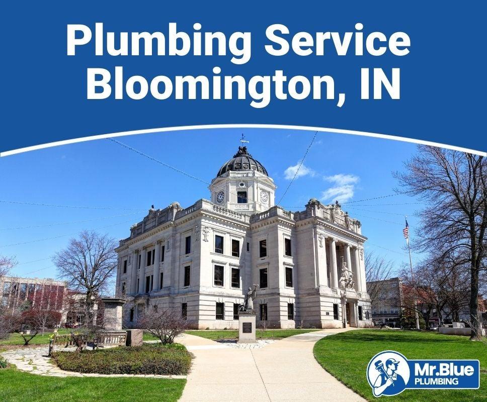Plumbing Service Bloomington, IN