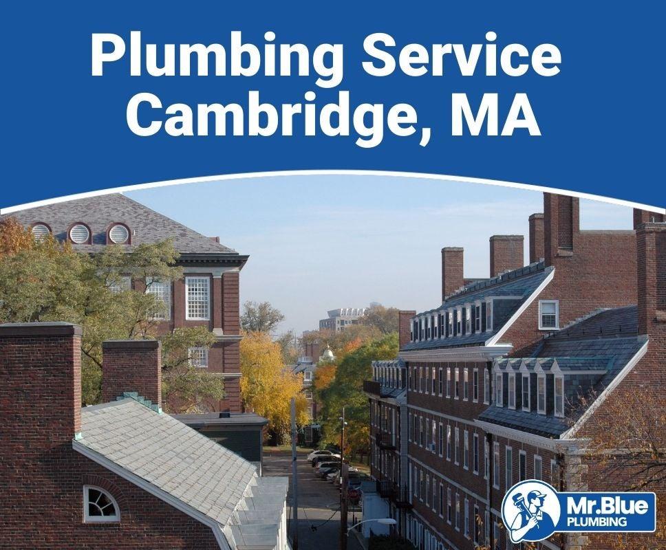 Plumbing Service Cambridge, MA
