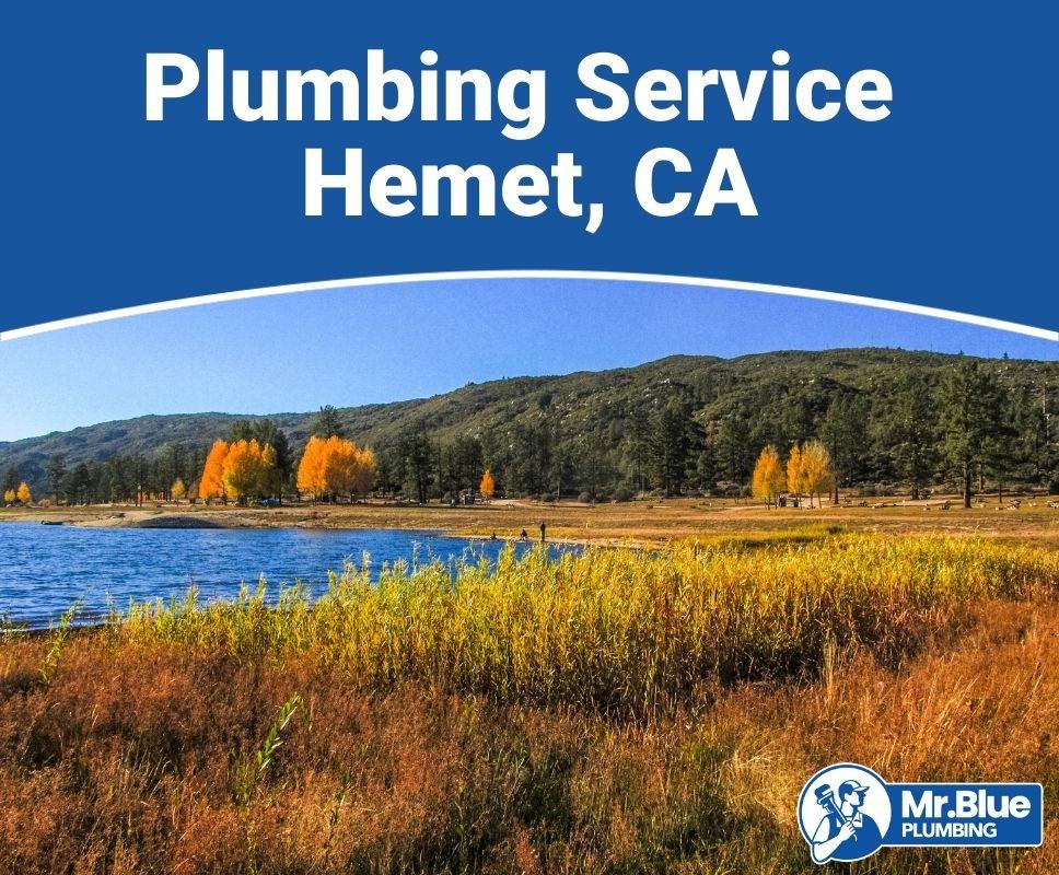 Plumbing Service Hemet, CA