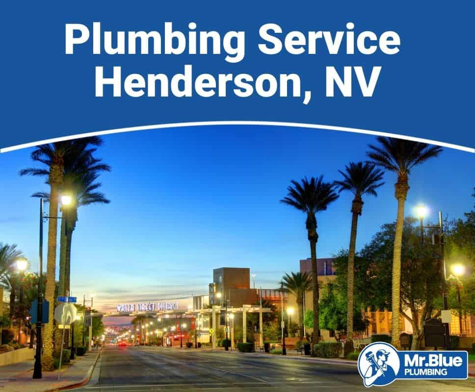 Plumbing Service Henderson, NV