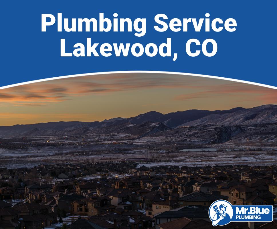 Plumbing Service Lakewood, CO