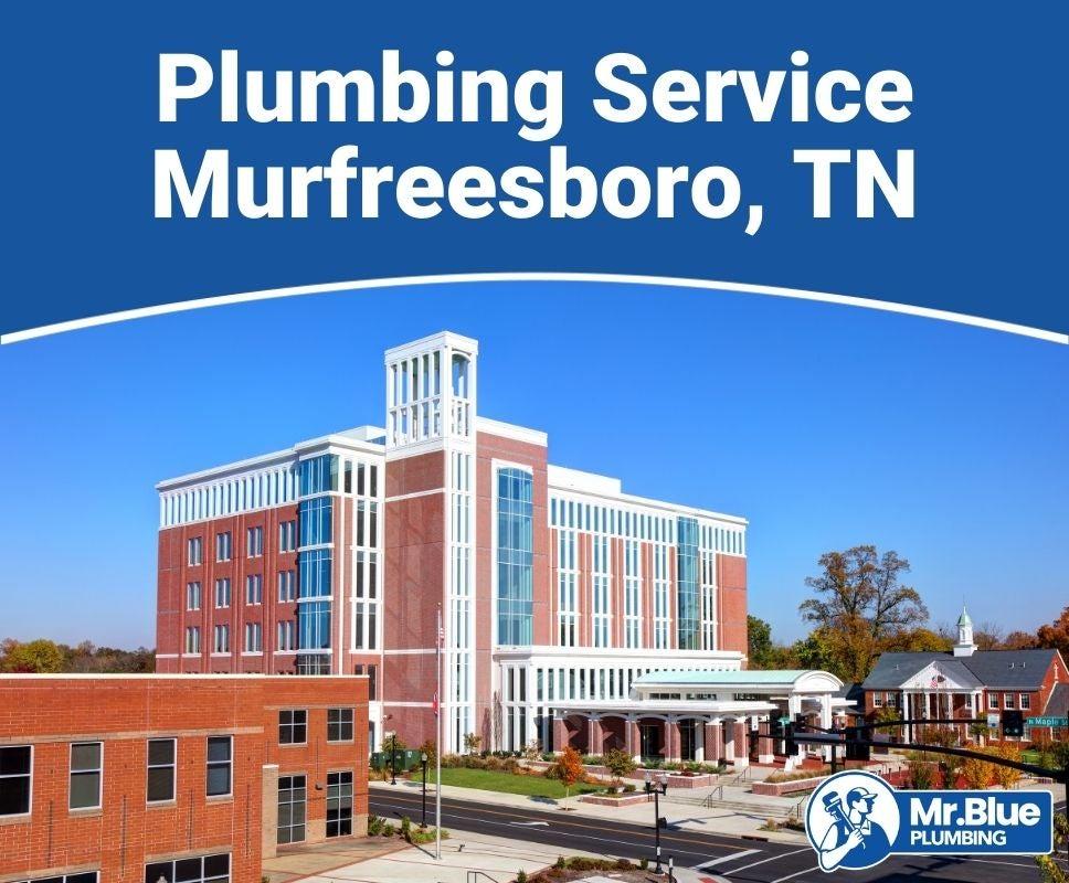 Plumbing Service Murfreesboro, TN