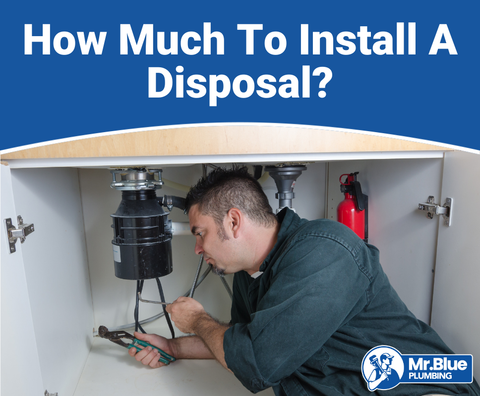 How Much To Install A Disposal?