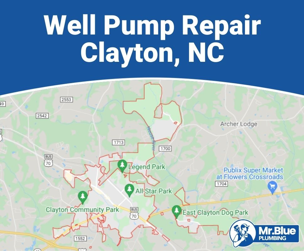 Well Pump Repair Clayton, NC
