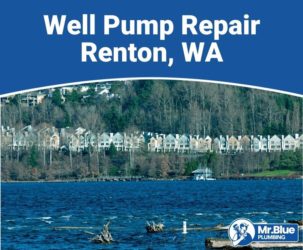 Well Pump Repair Renton, WA