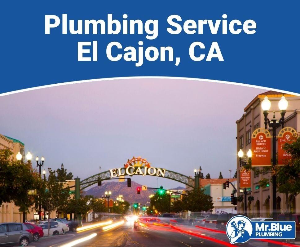 Plumbing Service El Cajon, CA