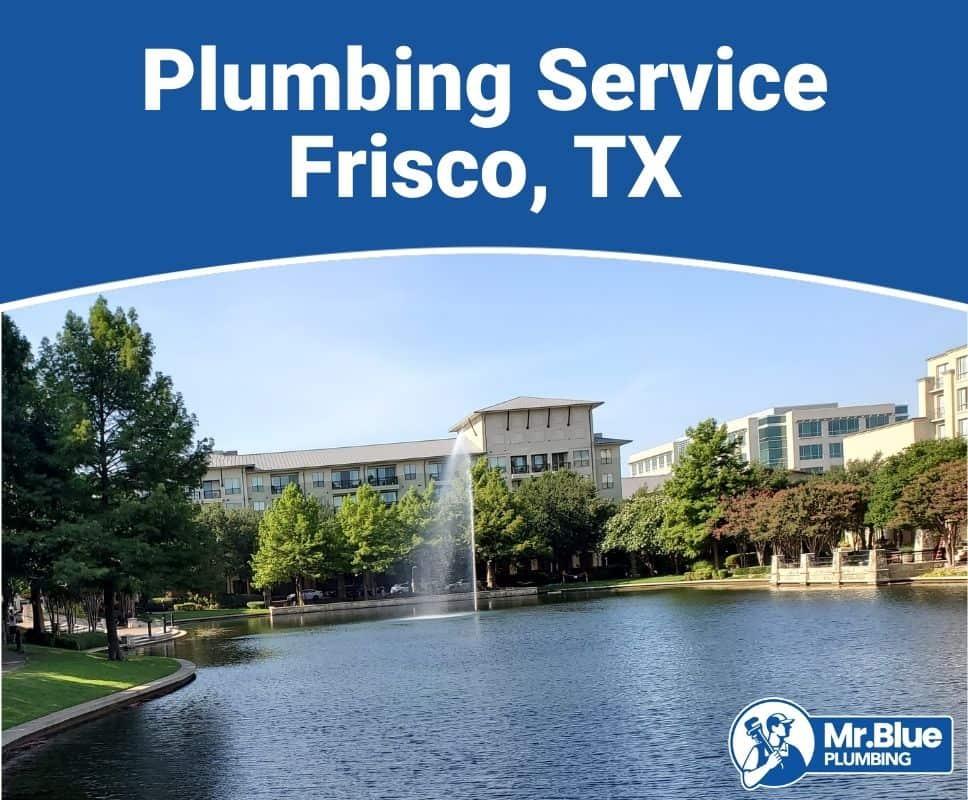 Plumbing Service Frisco, TX