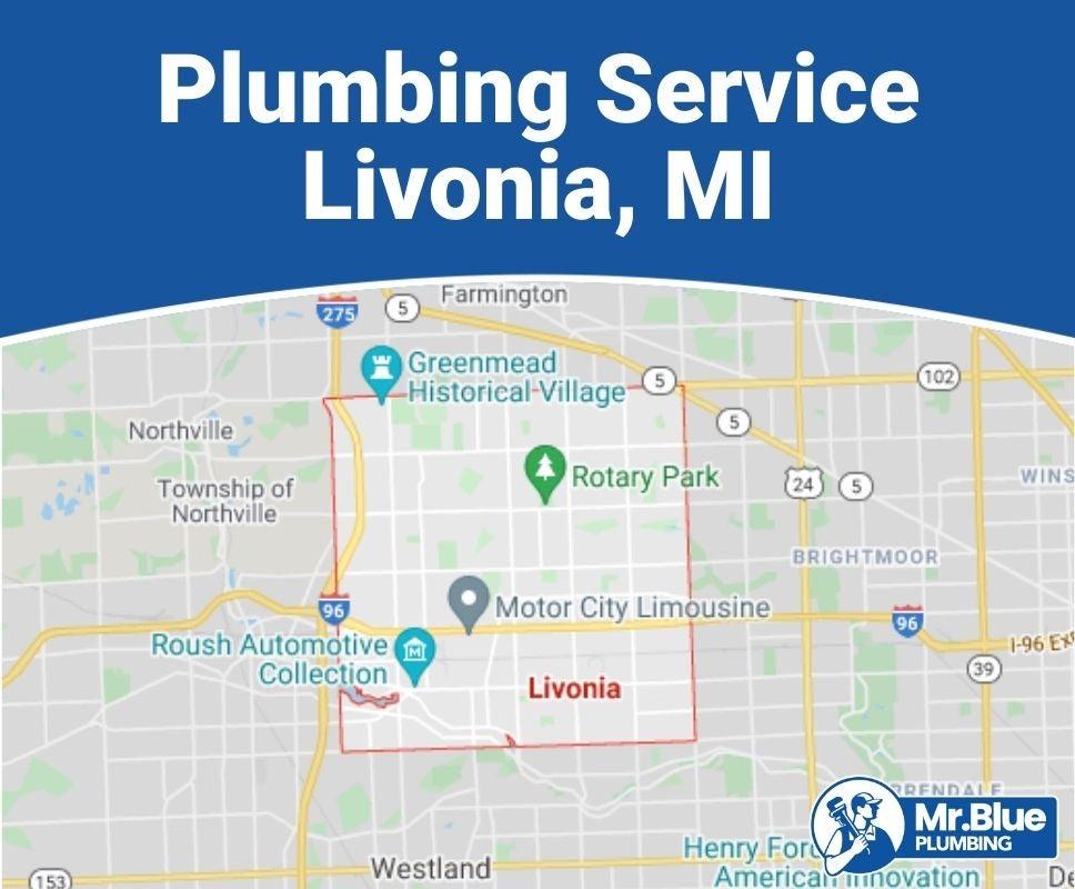 Plumbing Service Livonia, MI