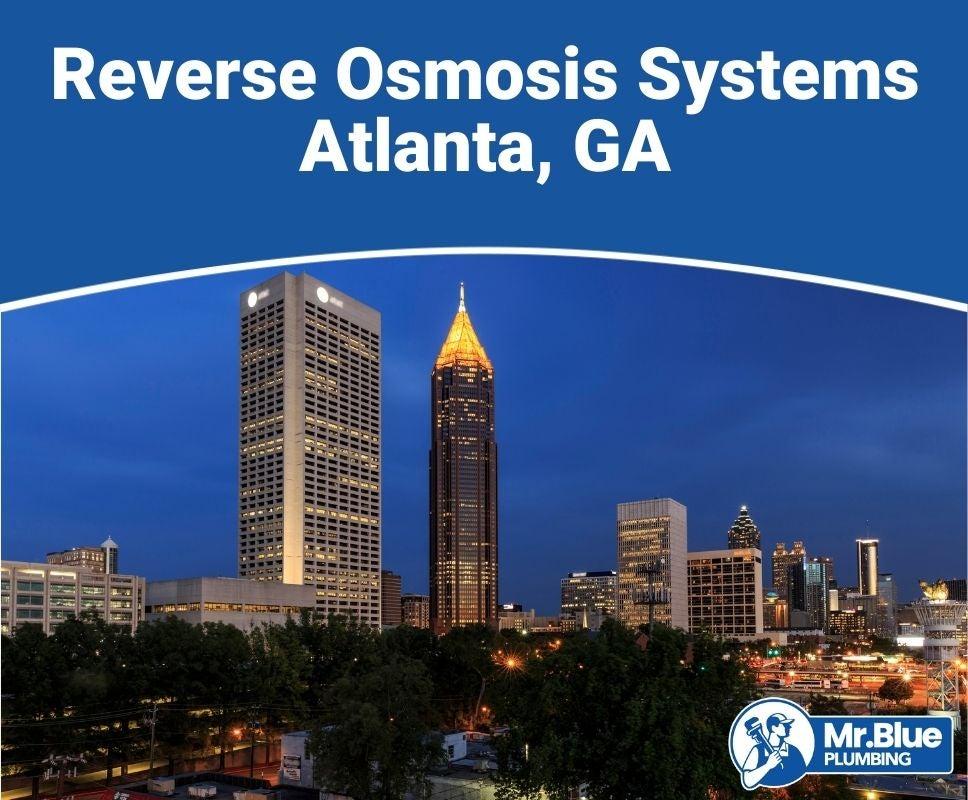 Reverse Osmosis Systems Atlanta, GA