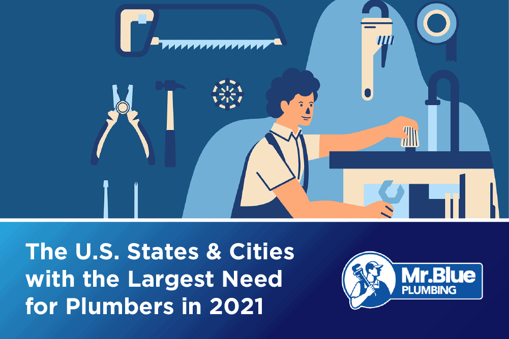 States & Cities with the Largest Need for Plumbers-F